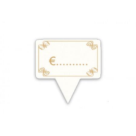 Πινακίδα PS Καρφί Φιόγκος 10x6εκ