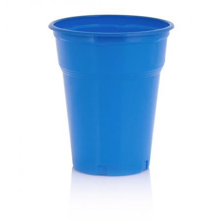 Πλαστικό Ποτήρι 300ml Μπλέ