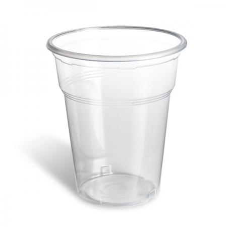 Πλαστικό Ποτήρι PP Freddo 300ml Διαφανές 50τεμ