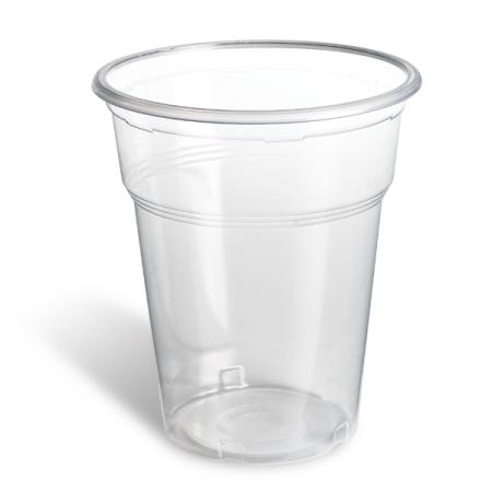 Πλαστικό Ποτήρι PP Freddo 400ml Διαφανές 50τεμ
