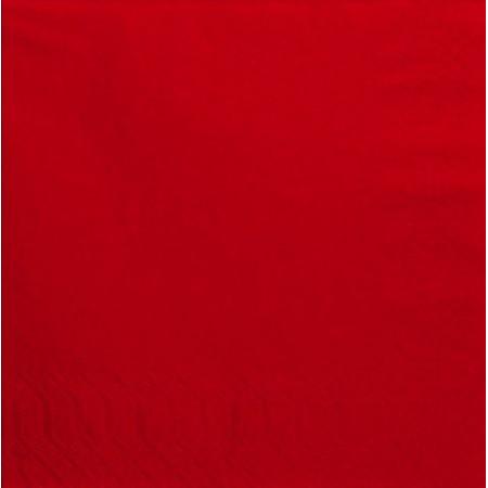 Χαρτοπετσέτα Πολυτελείας Κόκκινη