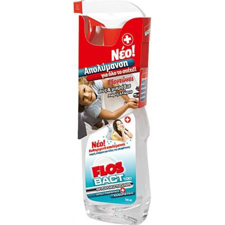 Flos bact 100 Antimicrobials  - Υγρό Απολυμαντικό