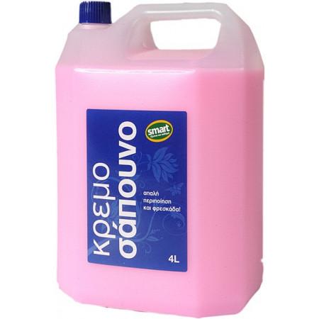 Flos Smart Κρεμοσάπουνο 4lt - Υγρό Σαπούνι Καθαρισμού Χεριών