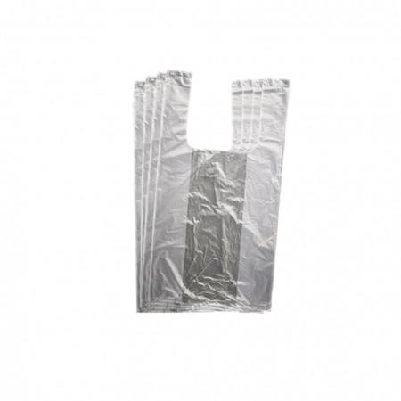 Πλαστικές Σακούλες / Τσάντες Φανελάκι Λευκή 35εκ 1κιλό