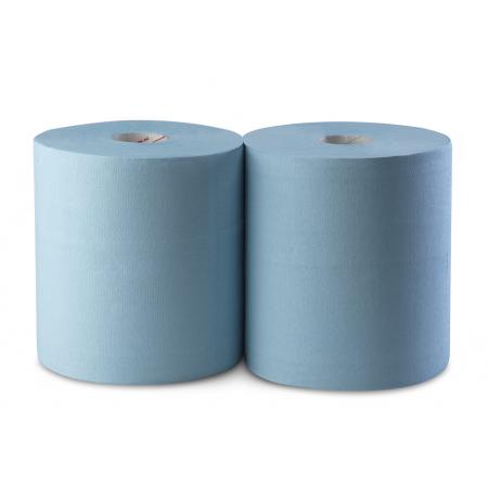 Χαρτί Κουζίνας Center Pull Μπλε 2 Ρολλά