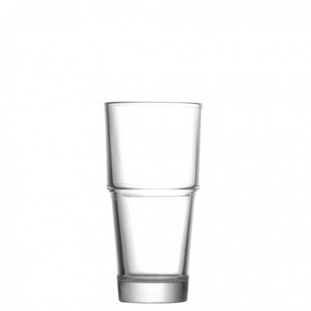 Uniglass Sahara 53203 Γυάλινο Ποτήρι Νερού - Φραπέ