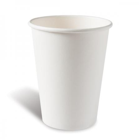 Χάρτινο Ποτήρι Λευκό 8oz - 50τεμ