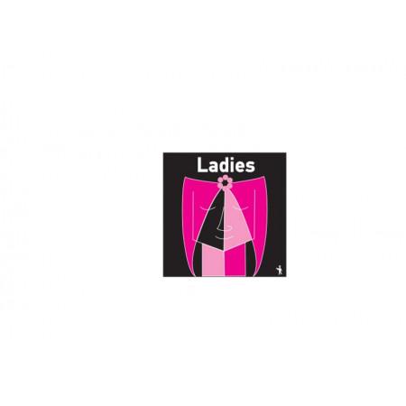 Πινακίδα PG Κυρίες Τετράγωνη