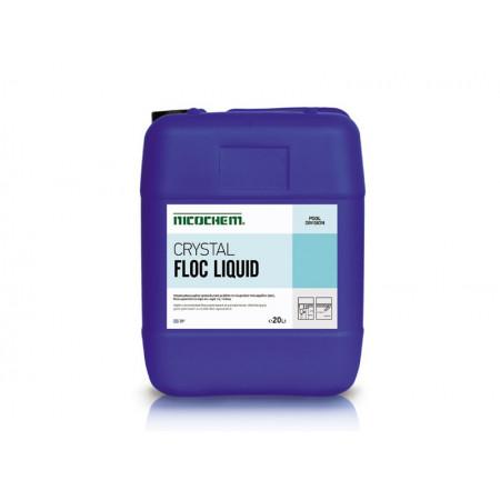 CRYSTAL FLOC LIQUID - Καταστροφή Αιωρούμενων Σωματιδίων & Κρυστάλλινη Όψη Νερού