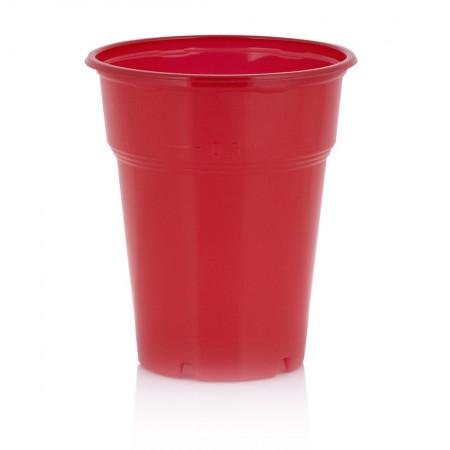Πλαστικό Ποτήρι 300ml Κόκκινο