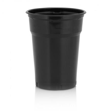 Πλαστικό Ποτήρι PP 300ml Μαύρο