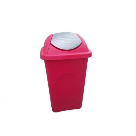 Κάδος Πλαστικός 60L - Με Αιωρούμενο Καπάκι