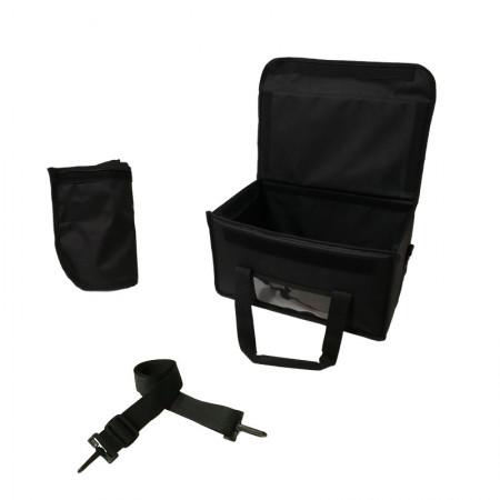 Ισοθερμική Τσάντα Μεταφοράς Φαγητού Με Υφασμάτινη Θήκη Μαύρη