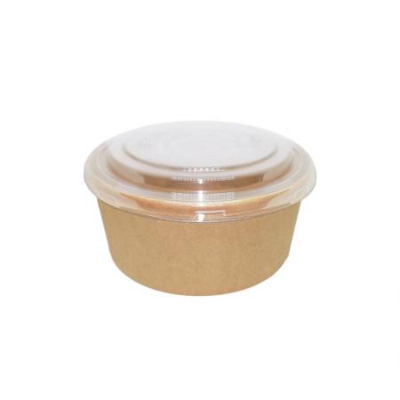 Καπάκι Για Μπωλ Σαλάτας 750 ml Διάφανο 50τεμ.