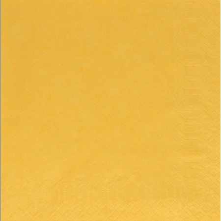Χαρτοπετσέτα Πολυτελείας Κίτρινο Ανοιχτό