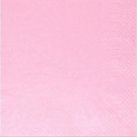 Χαρτοπετσέτα Πολυτελείας Ροζ