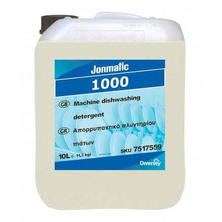 Jonmatic 1000 - Aπορρυπαντικό Πλυντηρίου Πιάτων Για Πλύση Σε Μαλακά Νερά