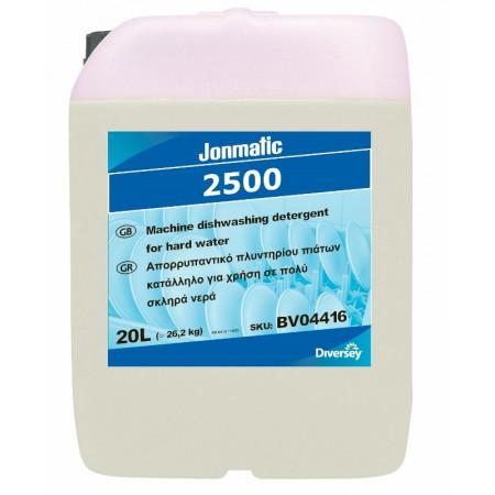 Jonmatic 2500 - Aπορρυπαντικό Πλυντηρίου Πιάτων Για Πλύση Σε Πολύ Σκληρά Νερά