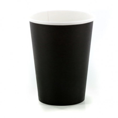 Χάρτινο Ποτήρι Μαύρο 8oz - 50τεμ
