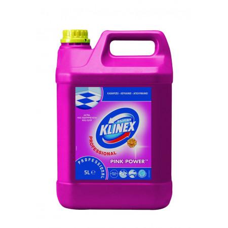 Χλωρίνη Klinex Professional  5lt - Pink Power