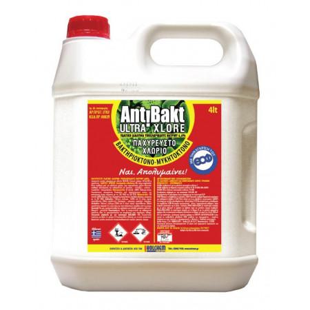 Holchem Antibakt 4lt - Χλωρίνη Ultra XL